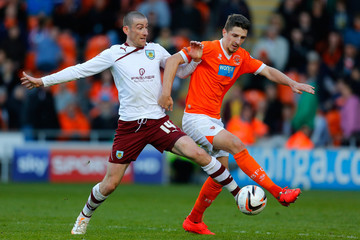 David Jones Blackpool v Burnley
