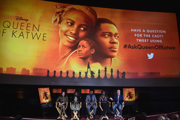 David Karger Live Q & A With 'Queen of Katwe' Director and Cast Reaches Fans Around the Globe