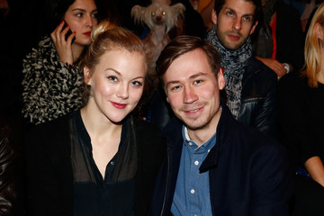 David Kross Arrivals at the Irene Luft Show
