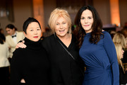 Liana Pai, Deborra-Lee Furness, Mary-Louise Parker attend David Lynch Foundation's Women Of Vision Awards Benefit Luncheon on December 03, 2019 in New York City.