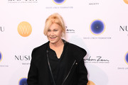 Deborra-Lee Furness attends David Lynch Foundation's Women Of Vision Awards Benefit Luncheon on December 03, 2019 in New York City.