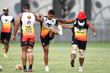 David Mead Papua New Guinea Training Session