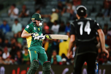 David Miller New Zealand v South Africa - 5th ODI