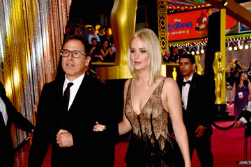 David O. Russell Jennifer Lawrence 88th Annual Academy Awards - Red Carpet Pictures