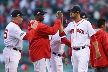 David Price Division Series - Cleveland Indians v Boston Red Sox - Game Three