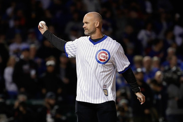 David Ross League Championship Series - Los Angeles Dodgers v Chicago Cubs - Game Five