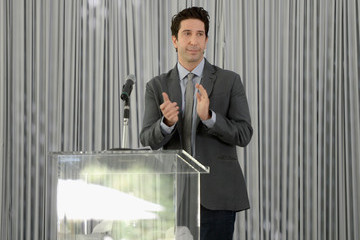 David Schwimmer The Rape Foundation's Annual Brunch To Benefit The Rape Treatment Center & Stuart House St Santa Monica-UCLA Medical Center