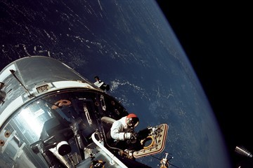 David Scott (FILE) A History of NASA Spacewalks: 1965-2015