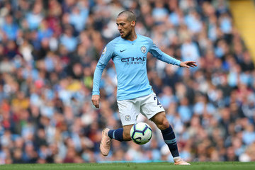 David Silva Manchester City v Burnley FC - Premier League