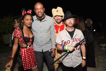 David Spade Celebs Attend the Casamigos Tequila Halloween Party