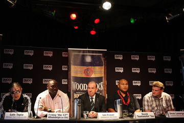Dean Lonergan David Tua v Friday Ahunanya - Press Conference