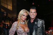 Coco (L) and David Tutera attend David Tutera's CELEBrations: Ice-T & Coco's Pre-Birthday Party For Baby Chanel at Cedar Lake Events on October 22, 2015 in New York City.