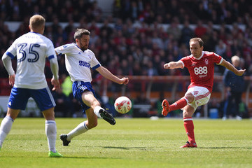 David Vaughan Nottingham Forest v Ipswich Town - Sky Bet Championship