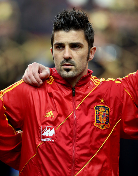 david villa photos photos france v spain zimbio