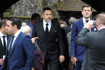 David Walliams Funeral of Entertainer Ronnie Corbett