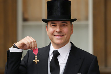 David Walliams Press Conference for the Presentation of the Latest Economic Survey of the UK