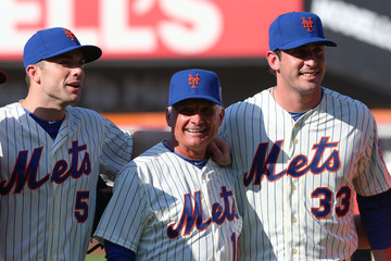 David Wright Terry Collins Preparations for the 84th MLB All-Star Game