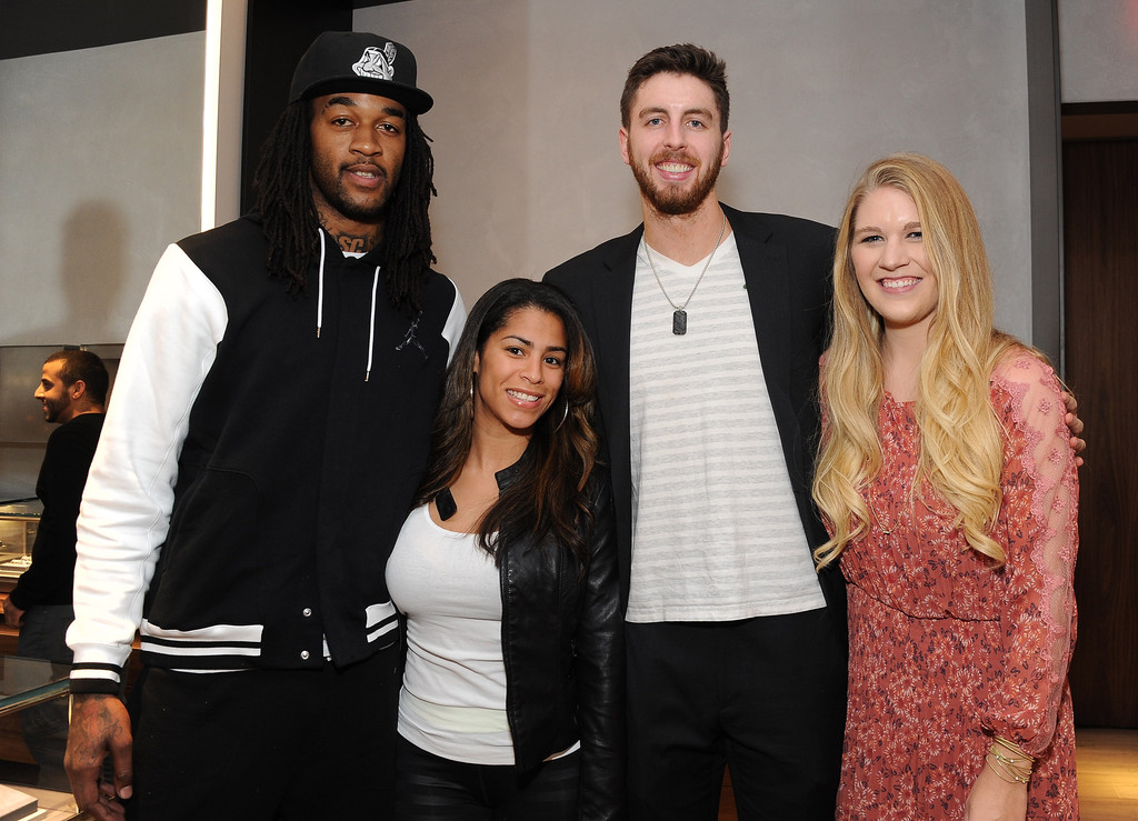 Ryan Kelly And Lindsay Cowher Photos The Men S Forged Carbon Collection Launch Zimbio