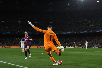 David de Gea FC Barcelona v Manchester United - UEFA Champions League Quarter Final: Second Leg