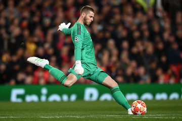 David de Gea Manchester United Vs. FC Barcelona - UEFA Champions League Quarter Final: First Leg