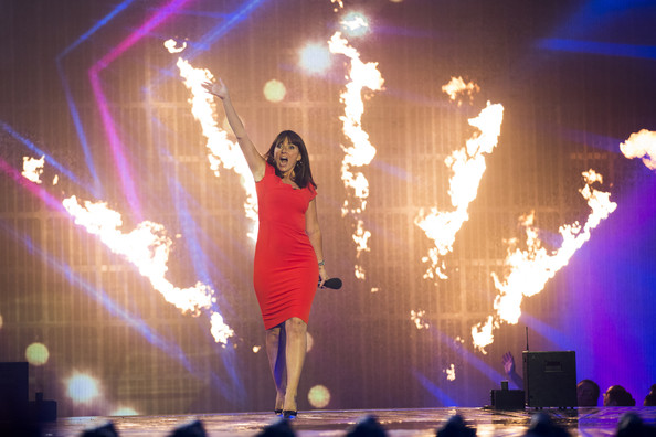 'Got to Dance' Tapes Third Live Show [got to dance,live show,performance,entertainment,performing arts,stage,performance art,concert,event,light,public event,rock concert,davina mccall,stage,england,london,earls court,show]