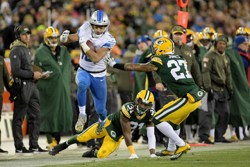 Davon House Detroit Lions vGreen Bay Packers