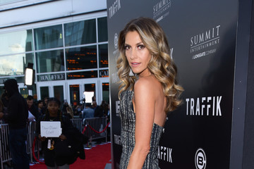 Dawn Olivieri Premiere Of Codeblack Films' 'Traffik' - Red Carpet
