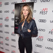Dawn Olivieri AFI FEST 2017 Presented by Audi - Closing Night Gala - Screening of 'Molly's Game' - Red Carpet