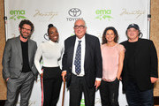 Brat Partner Asher Levin, Jordan howard, Ben Stein, Executive Director of the Redford Center Jill Tidman and David Wild attend the EMA IMPACT Summit at Montage Beverly Hills on May 22, 2018 in Beverly Hills, California.
