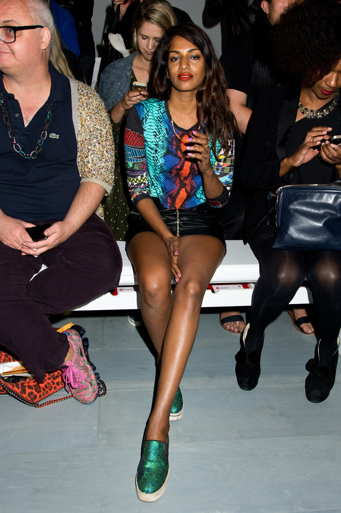 m i a photos photos day 2 front row london fashion week ss15 zimbio. Black Bedroom Furniture Sets. Home Design Ideas