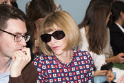 Anna Wintour attends the Hunter Original show during London Fashion Week Spring Summer 2015 at  on September 13, 2014 in London, England.