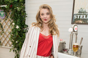 Stella Artois hosts Natalie Dormer at The Championships, Wimbledon as the Official Beer of the tournament at Wimbledon on July 2, 2018 in London, England.