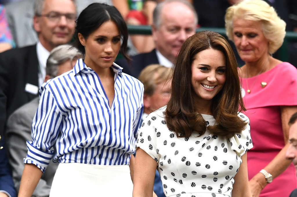 Kate Middleton And Meghan Markle Make Their First Solo Appearance Together