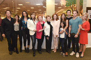 (L-R) Actors Drake Hogestyn, Kate Mansi, Sal Stowers, Lauren Koslow, Maree Cheatham, Peggy McCay, Suzanne Rogers, Lauren Boles, Kristian Alfonso, Billy Flynn, James Lastovic and Mary Beth Evans attend the Days Of Our Lives Book Signing - Barnes And Noble The Grove at The Grove on October 25, 2015 in Los Angeles, California.