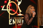 Adrienne Bailon performs during the Daytime Emmy Awards Pre-Awards Networking Party/Gift Lounge at Pasadena Convention Center on May 4, 2019 in Pasadena, California.
