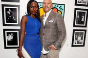 "Actress Anna Diop (L) and De Re Gallery owner Steph Sebbag attend Best Buddies ""The Art of Friendship"" Benefit Photo Auction, hosted by De Re Gallery, on March 3, 2016 in West Hollywood, California."