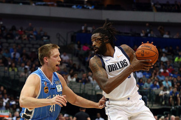 DeAndre Jordan Beijing Ducks vs. Dallas Mavericks