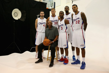 DeAndre Jordan Los Angeles Clippers Media Day