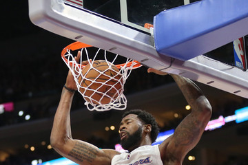 DeAndre Jordan Cleveland Cavaliers v Los Angeles Clippers