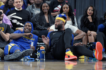 DeMarcus Cousins Golden State Warriors vs. Los Angeles Lakers