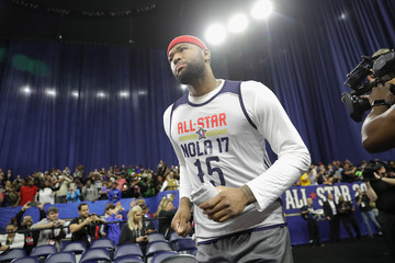 DeMarcus Cousins NBA All-Star Game 2017 - Practice
