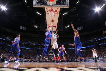 DeMarcus Cousins New York Knicks v New Orleans Pelicans