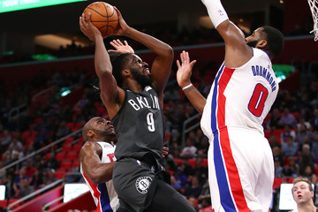 DeMarre Carroll Brooklyn Nets v Detroit Pistons