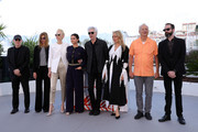 "Guest, Sara Driver, Tilda Swinton, Selena Gomez, Jim Jarmusch, Chloe Sevigny, Bill Murray and guest attend the photocall for ""The Dead Don't Die"" during the 72nd annual Cannes Film Festival on May 15, 2019 in Cannes, France."