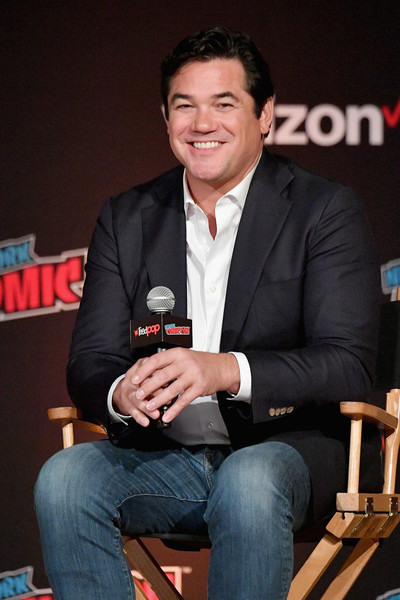 New York Comic Con 2018 -  Day 2 [event,spokesperson,suit,white-collar worker,dean cain,panel,jacob k. javits convention center,new york city,new york comic con,lois clark: the new adventures of superman 25th anniversary reunion]