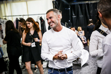 Dean Caten Dsquared2 - Backstage - Milan Men's Fashion Week SS17