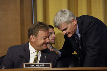 Dean Heller Senate Finance Committee Holds Hearing on Individual Tax Reform
