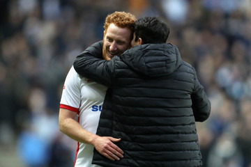 Dean Lewington Milton Keynes Dons v Coventry City - The Emirates FA Cup Fourth Round