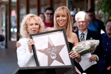Debbie Gibson The Palm Springs Walk Of Stars Honors Debbie Gibson With Star Dedication Ceremony