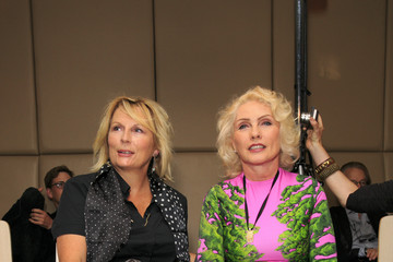 Debbie Harry Front Row at London Fashion Week